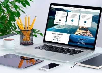 kayak-lago-puelo-responsive-web-design